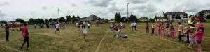 Les Makabés au tournoi de handball Valentin Porte à TOURY (06/15)