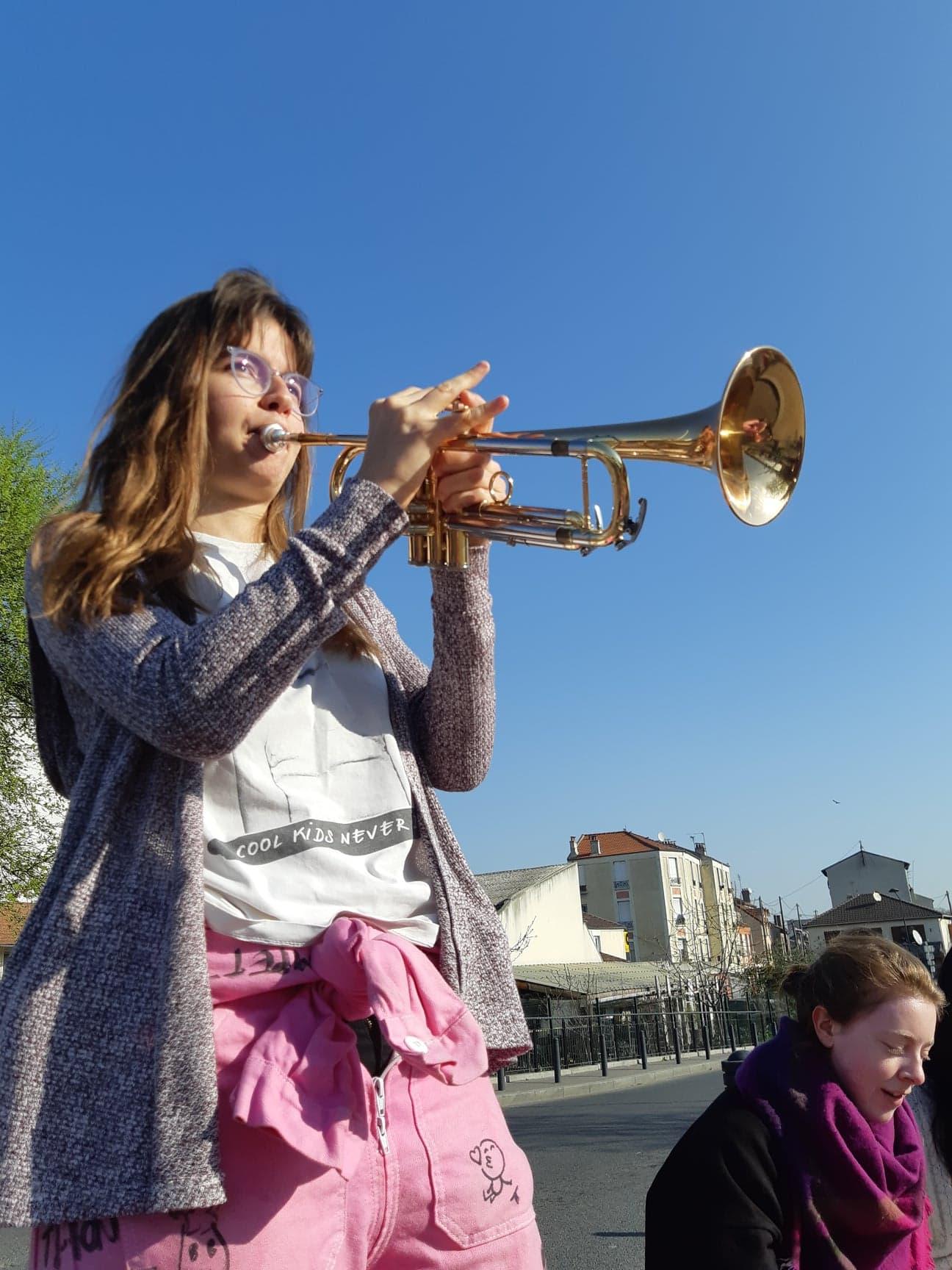 Audrey - Course Le Grand Paris