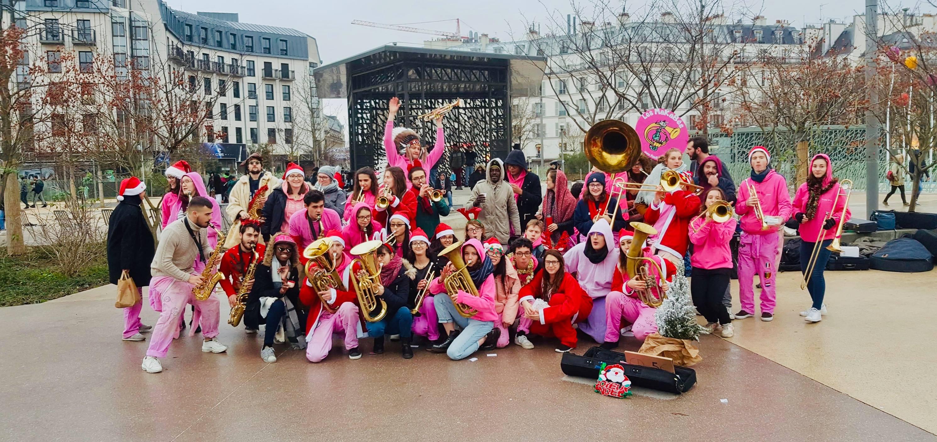 2019 - Manche de Noël à Châtelet (Paris)