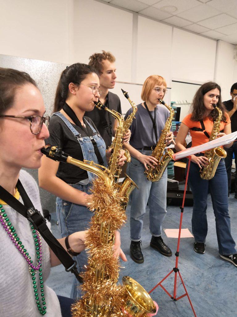 2020 - Toujours la saxocratie, mais de nouveaux musiciens ! - Salle de gym (Kremlin-Bicêtre)