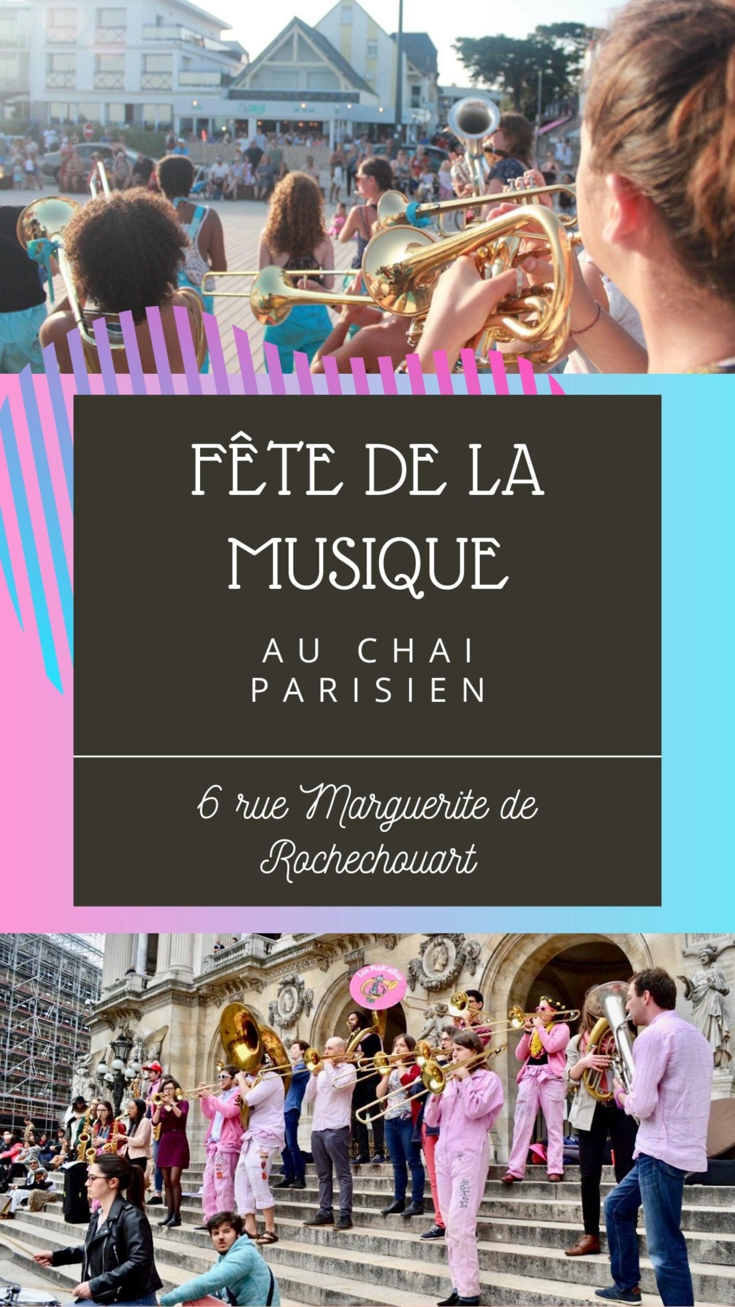 Rendez-vous au Chai Parisien pour une fête de la musique avec nos amis de toujours, les moktars !